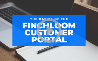 Finchloom Customer Portal Overview